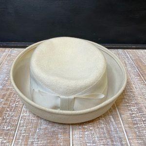 Vintage Cream Hat